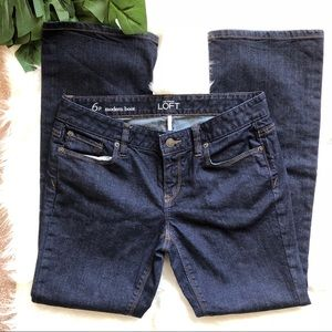 Loft Modern Boot Jeans 6 petite